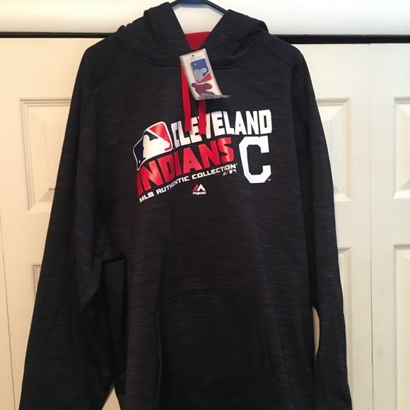 53f91628cad3 Majestic Shirts | Cleveland Indians 2xl Hoodie New | Poshmark